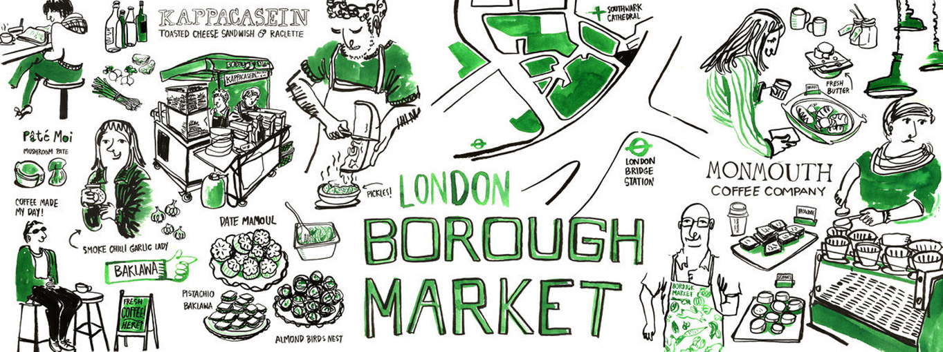 Borough Market London (2013)